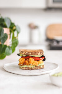 Buffalo Cauliflower Sandwich Veggiekins Blog