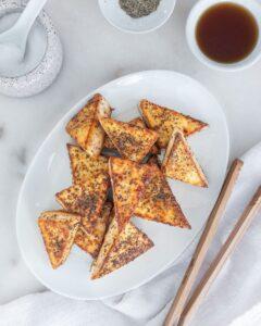 Sweet Salty Tofu Plant Based on a Budget