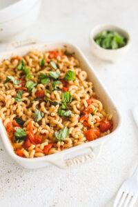 Vegan Baked Feta Pasta Veggiekins Blog