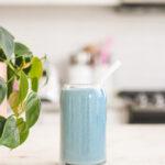 blue spirulina protein smoothie