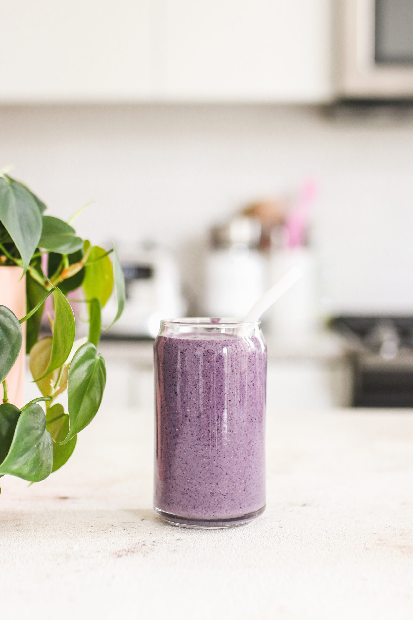 Blueberry Cheesecake Smoothie Vegan
