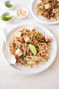 Vegan Pad Thai with Tofu Veggiekins Blog