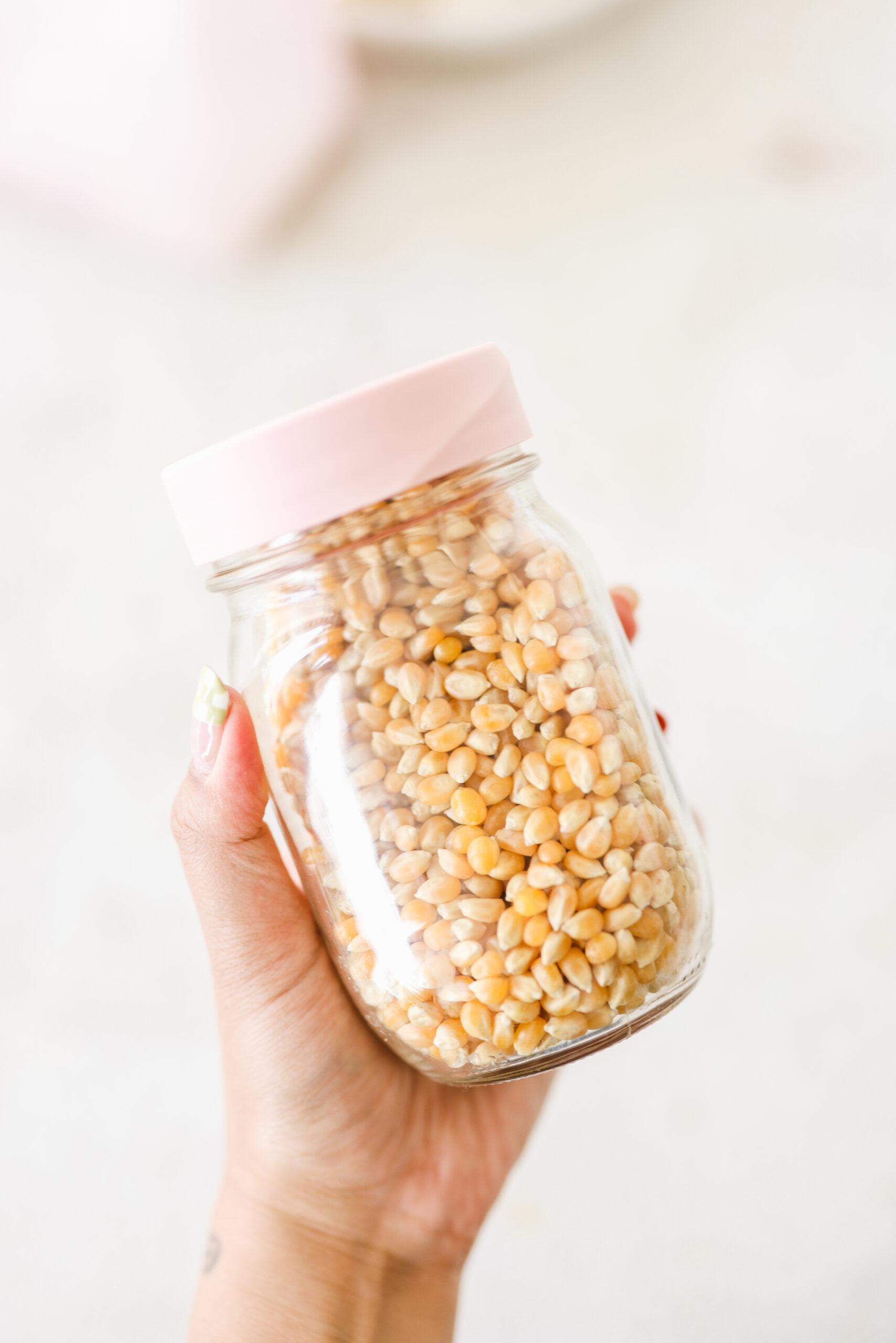 Zero Waste Low Waste Popcorn
