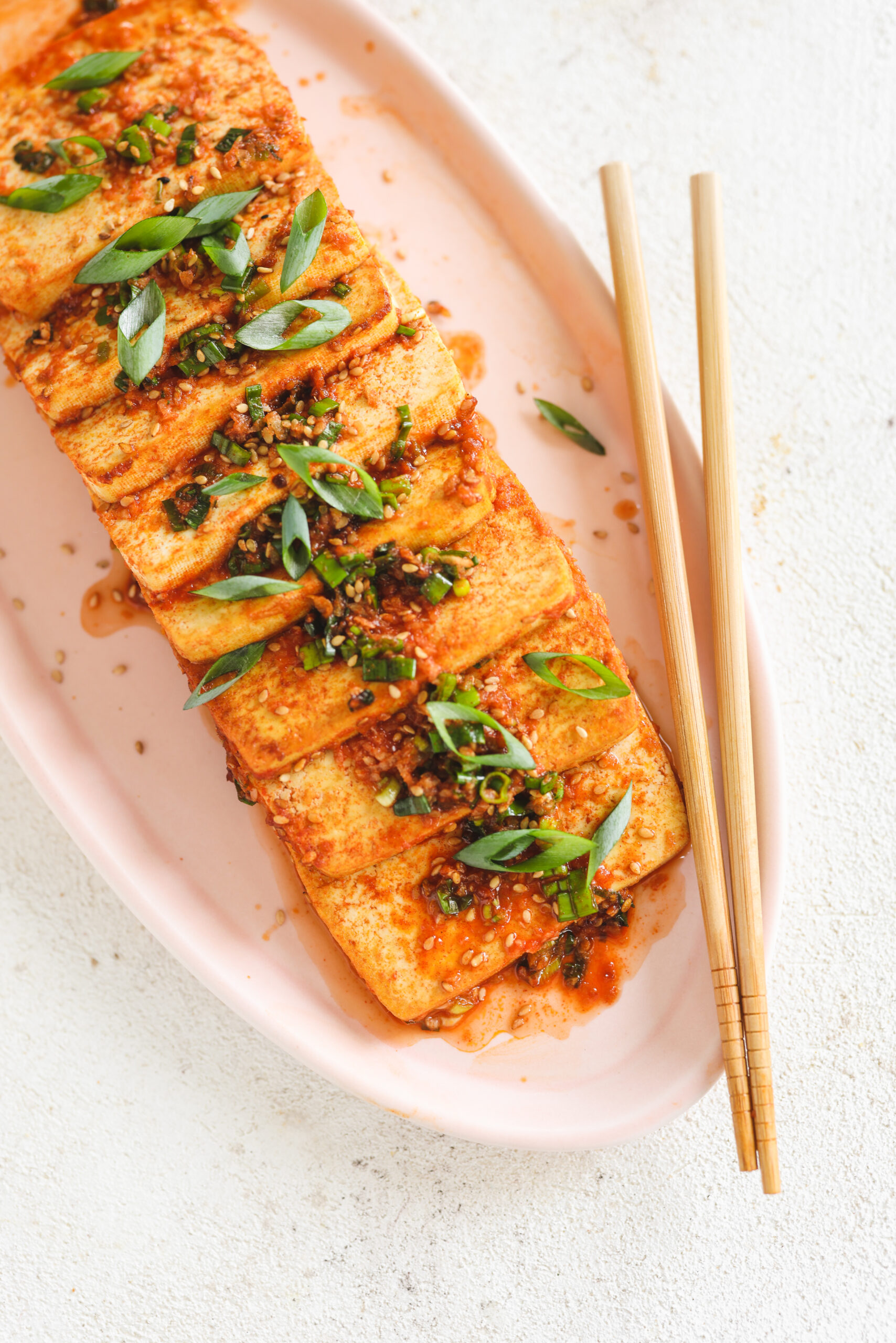 Braised Korean Tofu (Dubu Jorim)