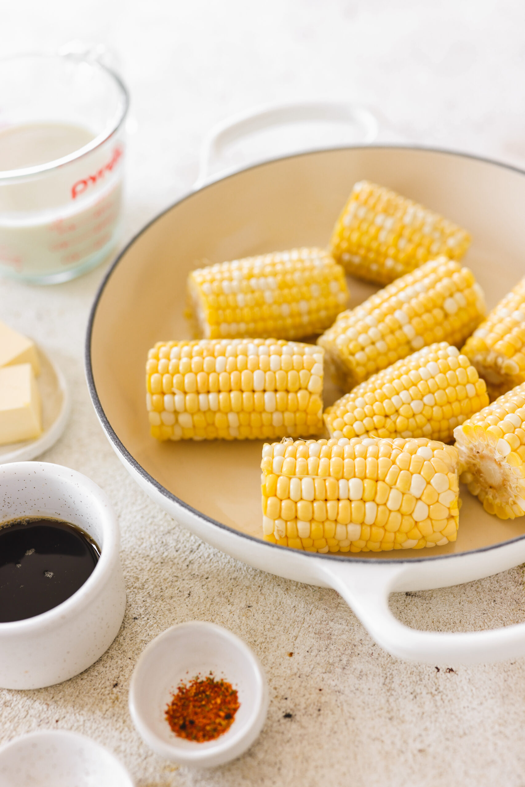 Miso Maple Butter Corn Veggiekins Blog