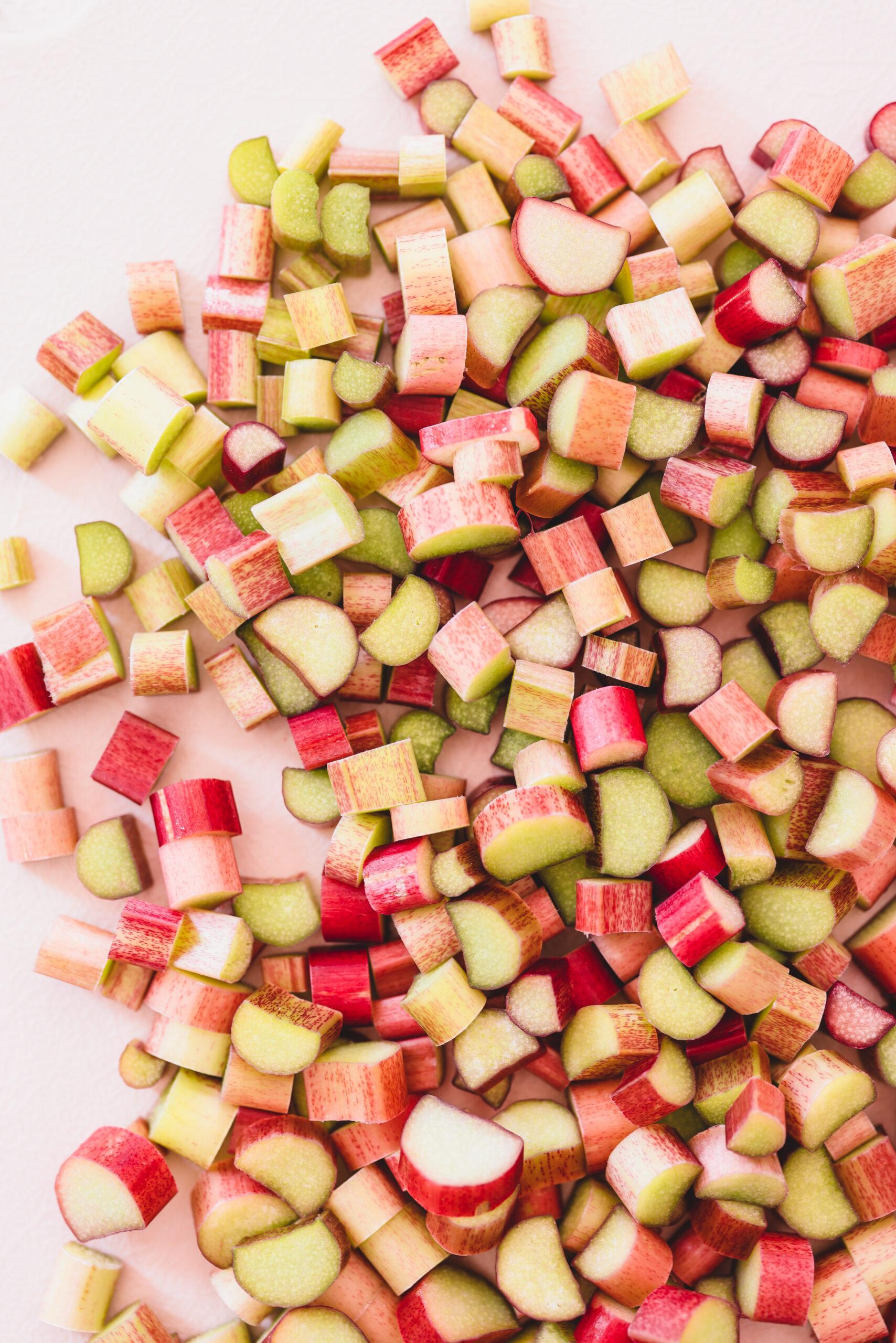 Rhubarb Chia Jam Veggiekins Blog